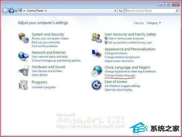 win 7英文系统显示中文乱码 三联